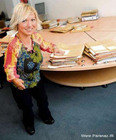 این زن کوتوله یک وکیل عالی رتبه در جهان است + عکس