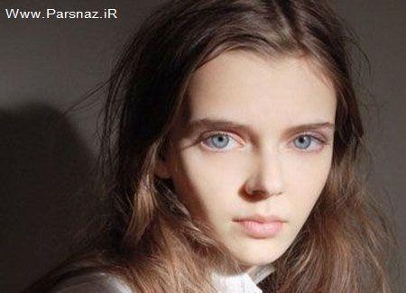 عکس   عکسهای دختری با چشمان بزرگ و اغوا کننده