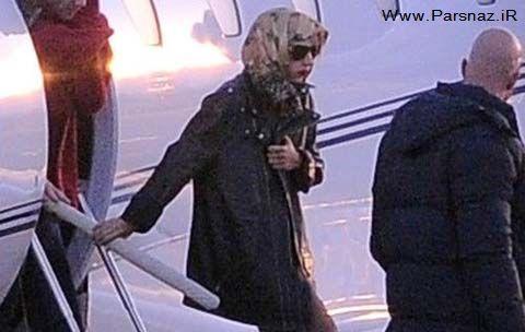 عکس هایی از لیدی گاگا در هلند باحجاب میشود؟