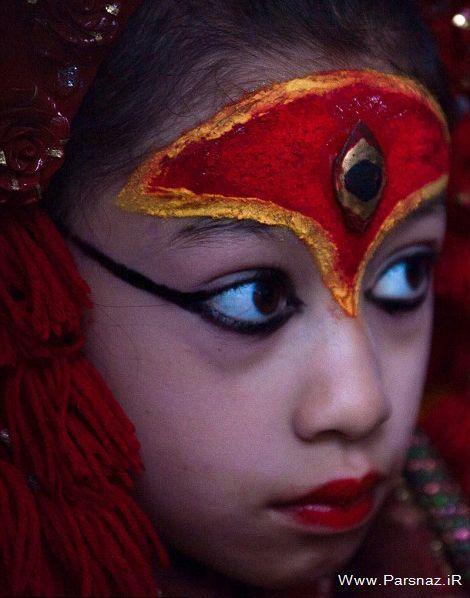 عکس های دختری که فقط 13 روز در سال میتوان آن را دید