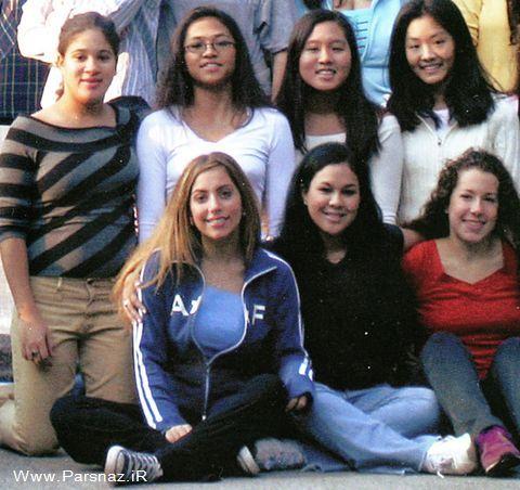 www.parsnaz.ir - لیدی گاگا در دوران دبیرستان و قبل از شهرت!! + عکس
