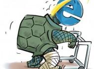 عکسی جالب از کاریکاتور سرعت اینترنت در ایران