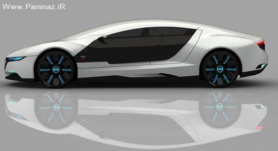 عکس های جدیدترین ماشین زیبای آئودی 2012