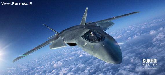 www.parsnaz.ir - عکس های جالب جت جنگنده پیشرفته روسیه