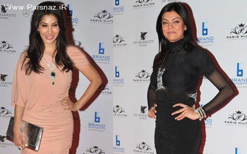 بی توجهی بازیگران بالیوود نسبت به حضور زن مشهور هالیوود