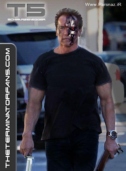 بازگشت دوباره آرنولد شوارتزنگر در نابودگر 5 + عکس