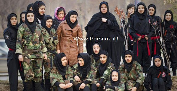 عکس های جدید و بسیار دیدنی از زنان نینجا در ایران