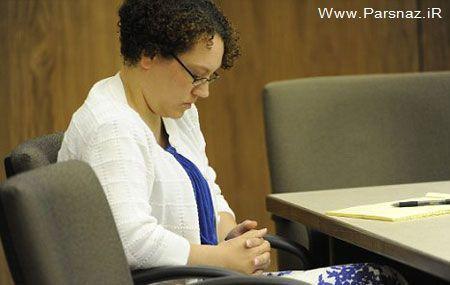 اولین جلسه دادگاه یک زن به اتهام کودک آزاری!! + عکس