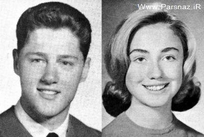 عکس هایی از زن و شوهر های سرشناس در دوران مدرسه
