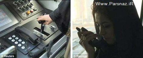 این دختر جوان تنها راننده مترو در خاورمیانه است + عکس