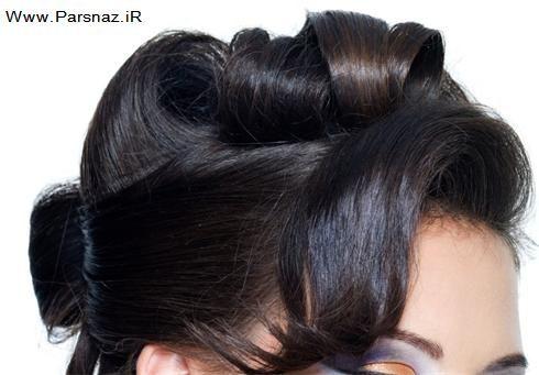 عکس هایی از زیباترین مدل های شینیون مو