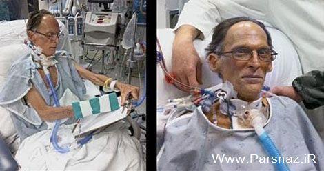 اولین انسانی در جهان که قلب ندارد!! + عکس