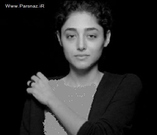 عکس های جدید برهنه شدن گلشیفته فراهانی مقابل دوربین