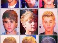 عکس هایی از تغییر چهره جاستین بیبر از 2009 تا الان