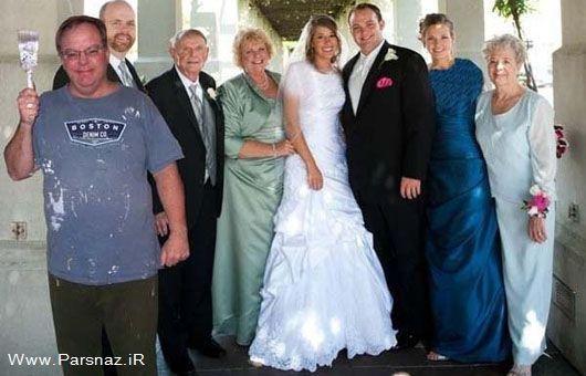 ترفند عروس برای جبران جای خالی پدرش در عروسی!!