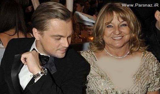همسر لئوناردو دی کاپریو باید شبیه مادرش باشد! + عکس