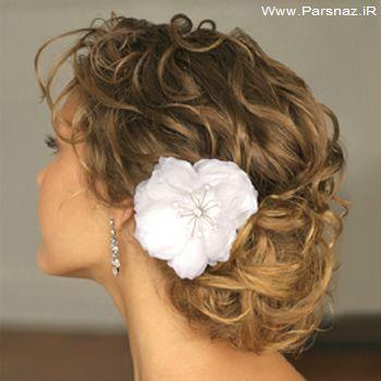 عکس هایی از مدل موهای عروس