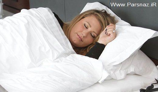 دختری عجیب که هر 7 ماه یکبار دو ماه می خوابد + عکس