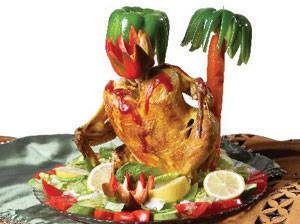 طرز درست کردن مرغ بریانی