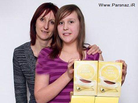 دختری برای زنده ماندنش باید دو برابر وزنش آرد ذرت بخورد
