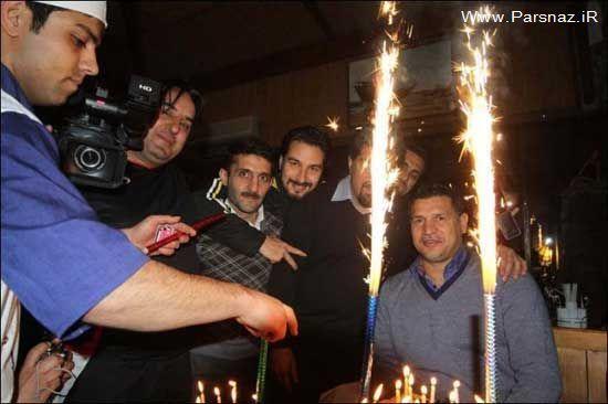 عکسهای تولد علی دایی در شیراز