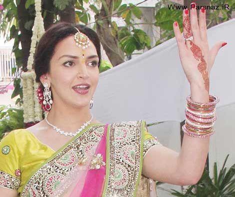 عکس های جالب مراسم ازدواج ستاره زیبای بالیوود