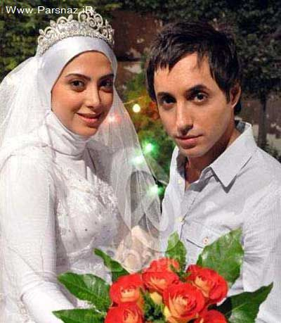 عکس های بسیار جالب از بازیگران در لباس عروس و داماد