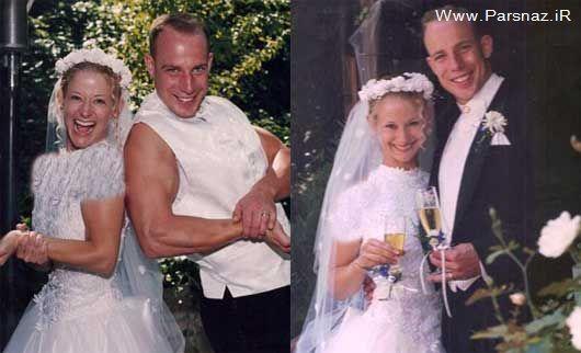 عجیب ترین زوج جهان که تاکنون 15 بار ازدواج کردن + عکس