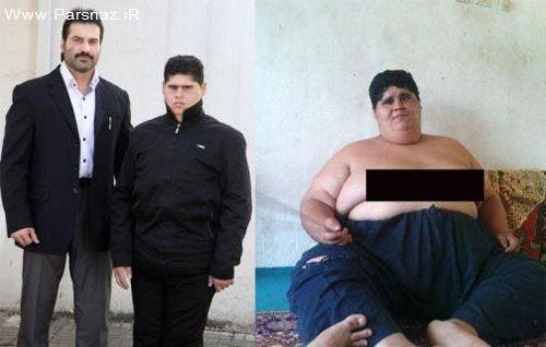 پسر جوان گیلانی در ۹ ماه ۱۰۵ کیلوگرم وزن کم کرد + عکس