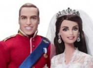 عروسک کیت میدلتون و پرنس ویلیام رونمایی شد!! + عکس