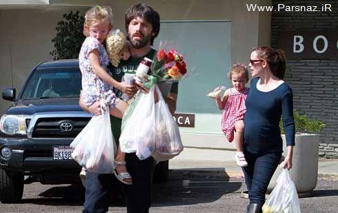پسری که به جمع خانواده خوشبخت جنیفر اضافه شد + عکس