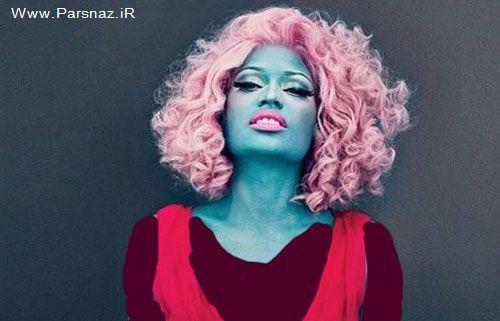 خواننده زن در ماه ۱۰۰ میلیون خرج لباسش می کند + عکس