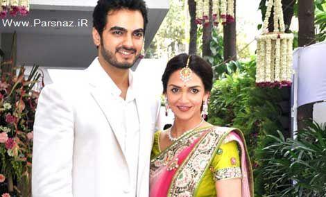 www.parsnaz.ir - عکس های جالب مراسم ازدواج ستاره زیبای بالیوود