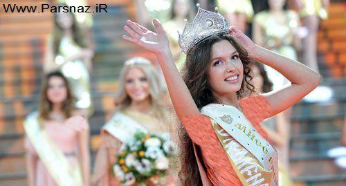 عکسهایی جدید از مراسم زیباترین دختر شایسته روسیه در ۲۰۱۲