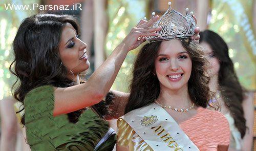 www.newnet.ir - عکسهایی از مراسم زیباترین دختر  شایسته روسیه در 2012
