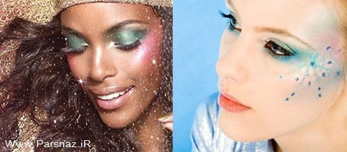 عکس های جدید از آرایش صورت و شینیون