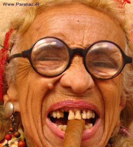 عکس های جالب و دیدنی از خوش تیپ ترین پیرزن جهان