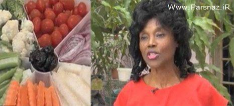 این زن خوش اندام با رژیم غذایی به جنگ پیری رفته است