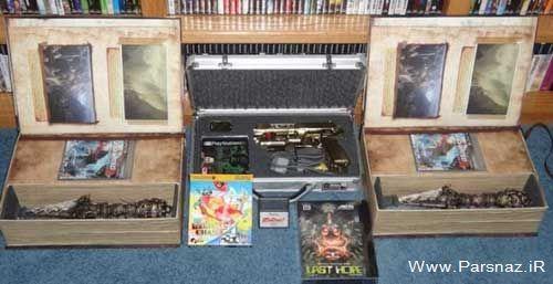 اتاق جالب بازی های پلی استیشن کشف شد + عکس