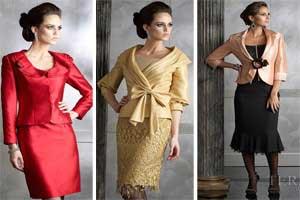 عکس هایی از انواع جدیدترین مدلهای کت و دامن مجلسی زنانه