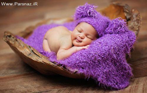 عکس های جادویی از نوزادان تازه متولد شده
