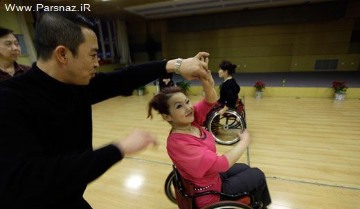 عکس حرکتی رقص