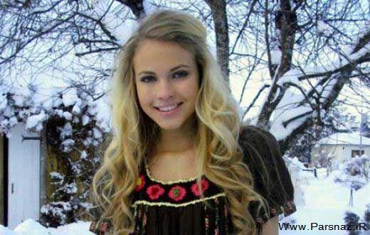 این دختر جوان زیباترین وبلاگ نویس کشور نروژ شد + تصاویر