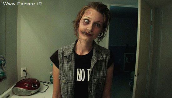 عکس های دیدنی از این خانم که با آرایش تبدیل هیولا  شد