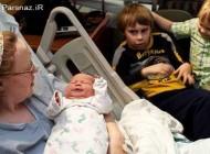 این خانم با بچه دار شدن عجیبش همه را متعجب کرد + عکس