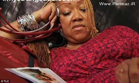 اعتیاد این زن چندش آور به بلند کردن ناخن هایش + عکس