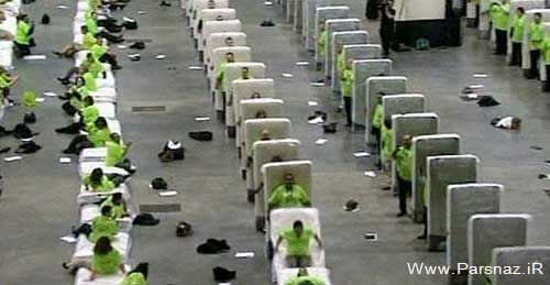 ۸۵۰ زن و مرد با تشک هایشان رکورد جهانی زدند + عکس