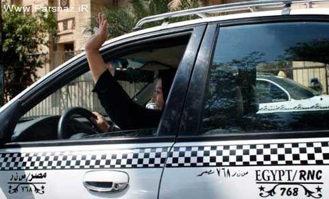 این خانم تاکسیران موانع آزادی حقوق زنان مصری را شکست