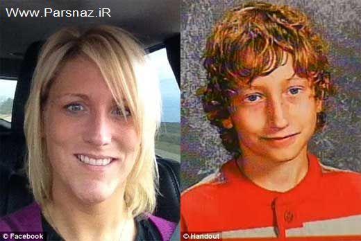 قتل و تجاوز پسر 13 ساله به مادرش!! + عکس