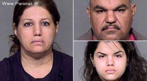 شکنجه دختر جوان بخاطر ازدواج زوری با مرد 38 ساله + عکس